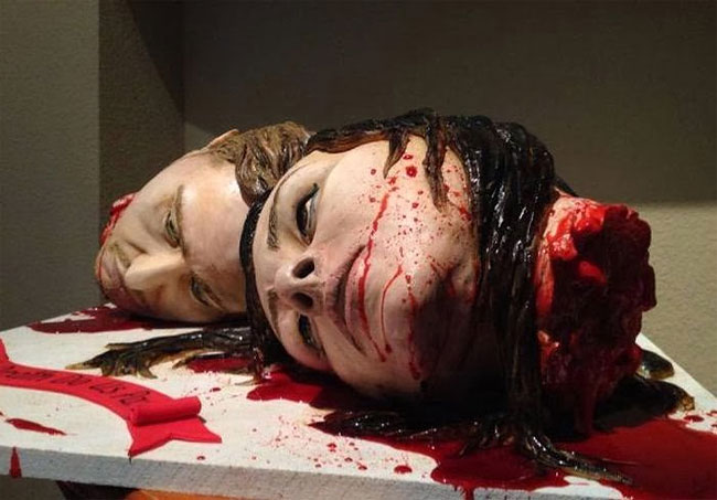 692 The Most Gruesome Wedding Cake Ever