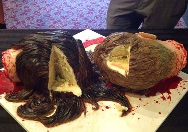 784 The Most Gruesome Wedding Cake Ever