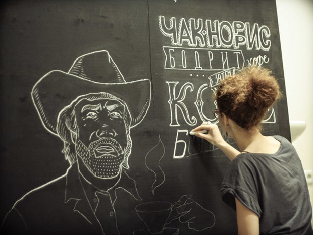 Chalk Lettering Typography 13 Beautiful Chalk Lettering Typography