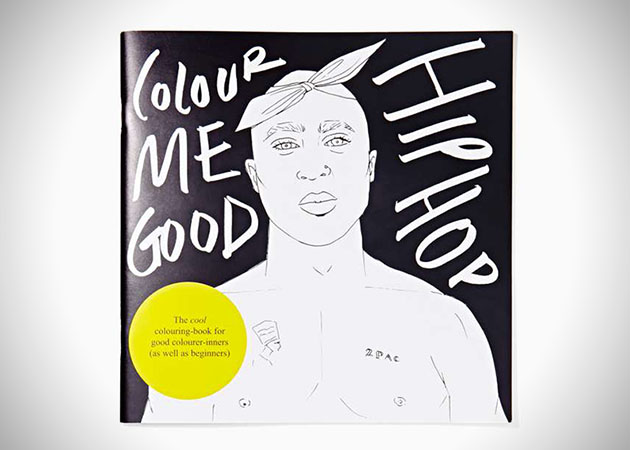 Color 1 Hip Hop Coloring Book
