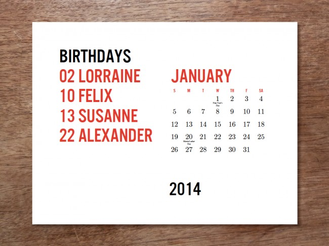 January 1000px1 650x487 Printable Calendar Minima