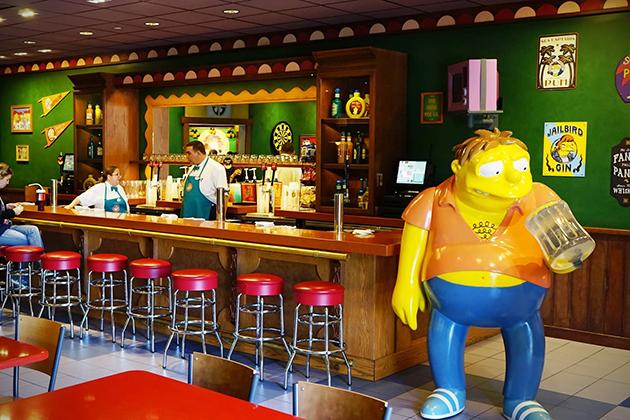 Moe 1 The Simpsons Inspired Moes Tavern