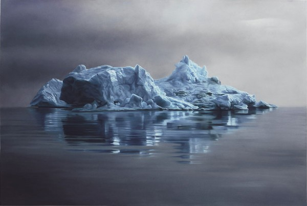 Realistic Paintings Of Greenland Made By Zaria Forman 2 Realistic Paintings Of Greenland Made By Zaria Forman