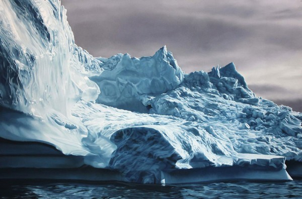 Realistic Paintings Of Greenland Made By Zaria Forman 3 Realistic Paintings Of Greenland Made By Zaria Forman
