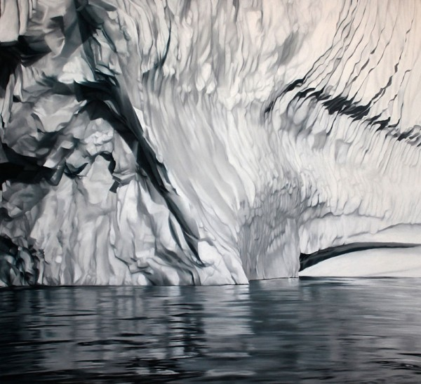 Realistic Paintings Of Greenland Made By Zaria Forman 4 Realistic Paintings Of Greenland Made By Zaria Forman