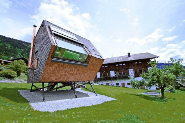 Small House Build In Austria By Peter Jungmann 4 Small House Build In Austria By Peter Jungmann