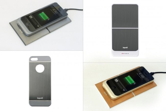 Wireless Charger For iPhone 5 5s By iNPOFi 11 650x433  Wireless Charger For iPhone 5 / 5s By iNPOFi