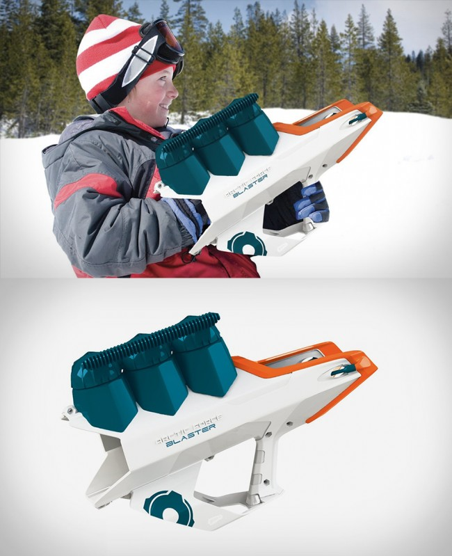arctic force snowball blaster large 650x799 Artic Force Snowball Launcher