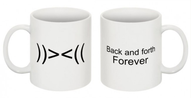 back and forth forever mug1 650x335 Pop Culture Mugs by Rebel Youth Graphics