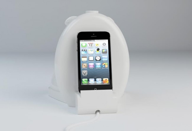 iphone dock1 650x446 Elephant Pie Innovative Paper Products Made of Elephant Dung (Live on Indiegogo)