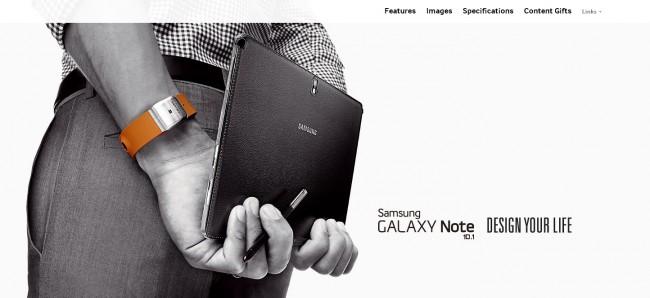 mainbig 650x298 Samsung Galaxy 10.1 2014 Edition Microsite