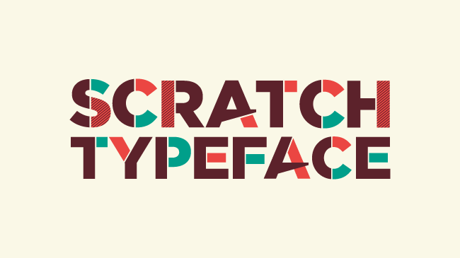 02 SCRATCH Typeface