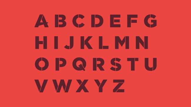 041 SCRATCH Typeface