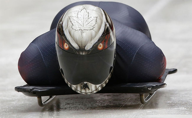 1144 Awesome Skeleton Helmets on Sochi Olympics 2014