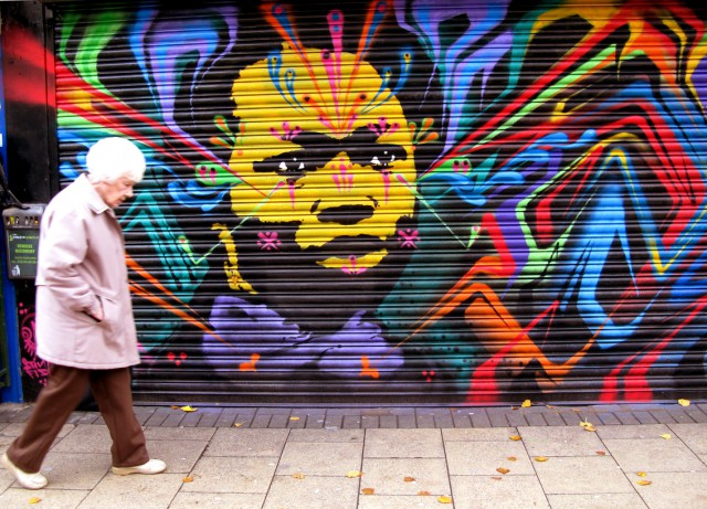 1359732366 1 640x461 Real People Portraits in Stinkfishs Street Art