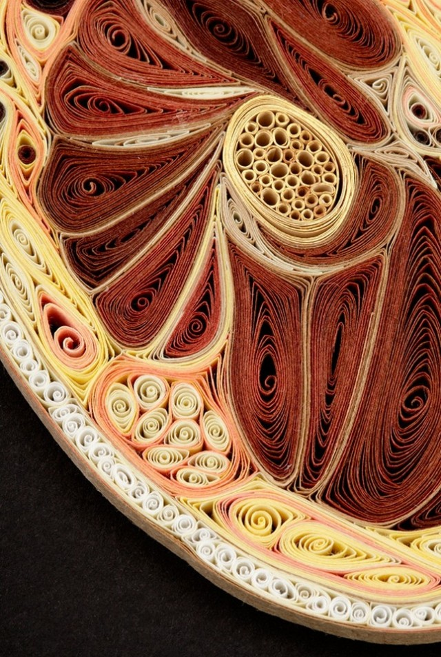 1359985632 11 640x953 Anatomical Quilling by Lisa Nilsson