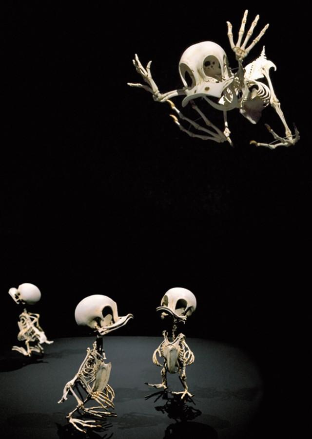 1368118977 2 640x902 Cartoon Skeletons by Hyungkoo Lee