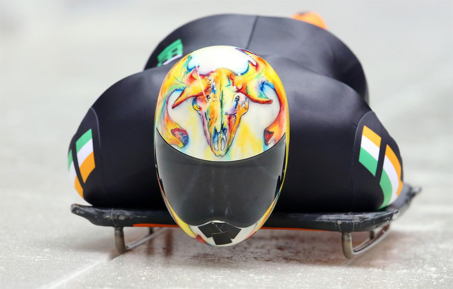 1420 Awesome Skeleton Helmets on Sochi Olympics 2014