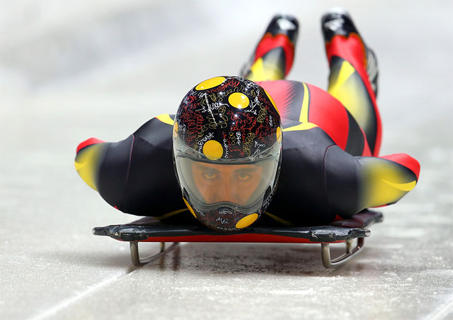1515 Awesome Skeleton Helmets on Sochi Olympics 2014
