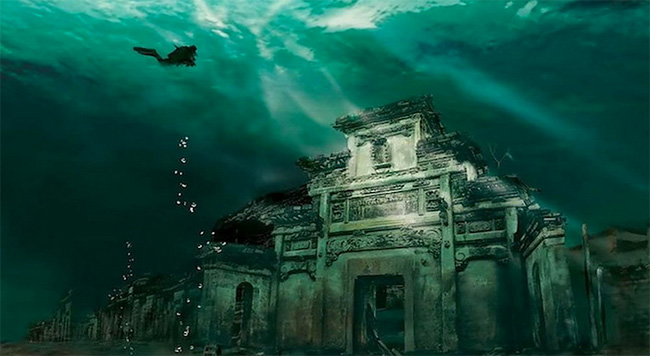 159 Lost City Shicheng Found Underwater in China