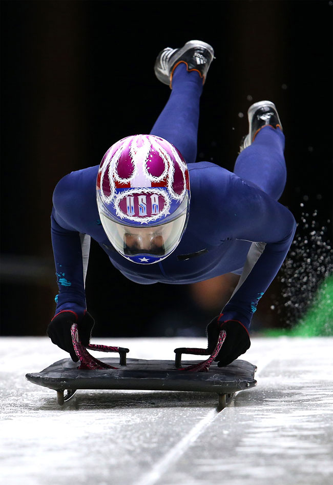 1613 Awesome Skeleton Helmets on Sochi Olympics 2014