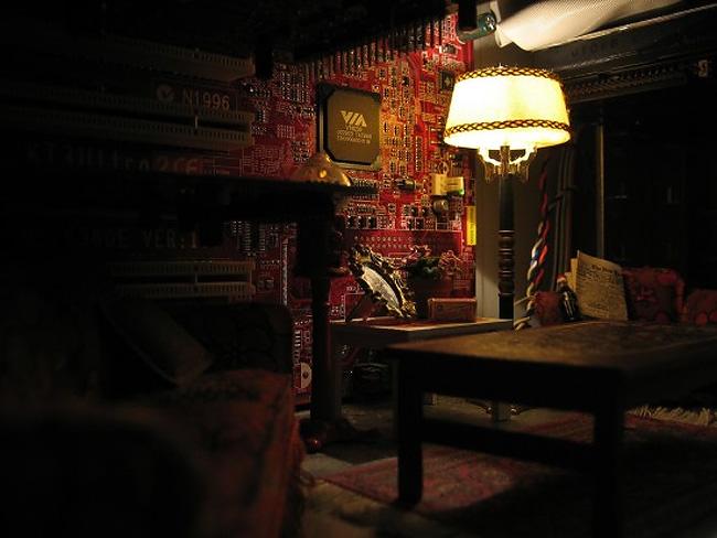 隨處可袖珍:主機裡的小小客廳