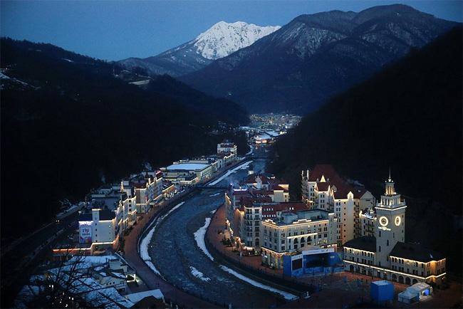 271 Sochi Prepare for 2014 Winter Olympics