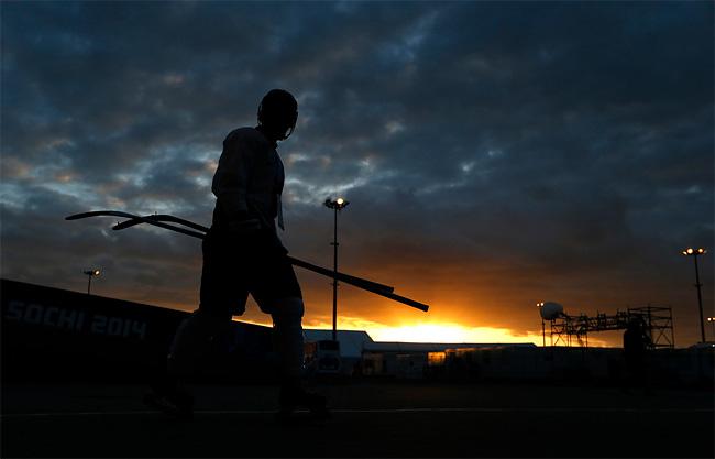 351 Sochi Prepare for 2014 Winter Olympics