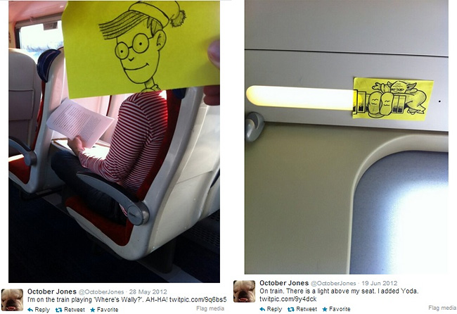 538 Artist Turns Train Passengers Into Funny Characters With His Doodles