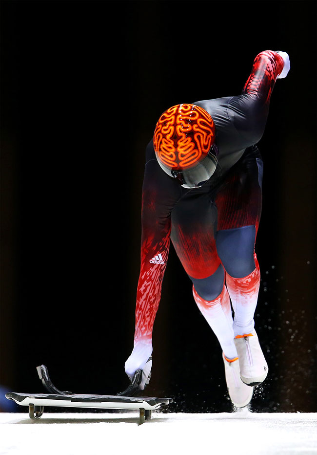 732 Awesome Skeleton Helmets on Sochi Olympics 2014