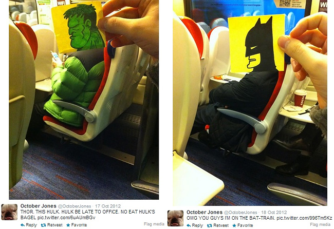 922 Artist Turns Train Passengers Into Funny Characters With His Doodles