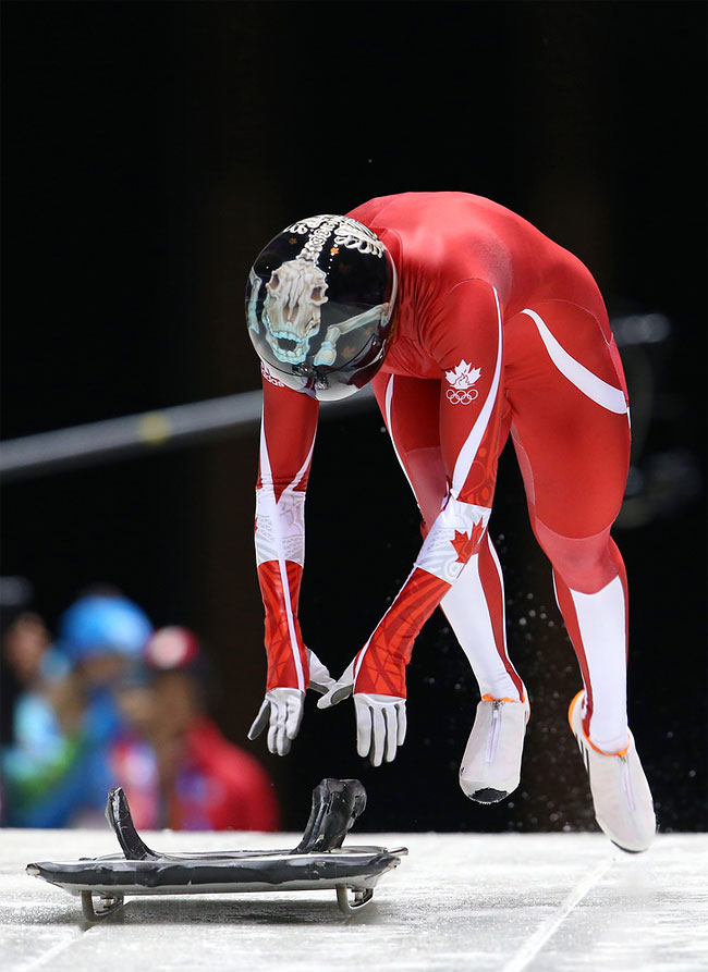 928 Awesome Skeleton Helmets on Sochi Olympics 2014