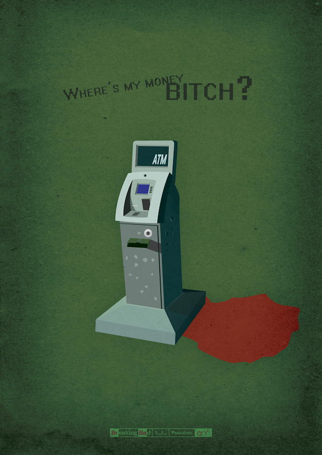 Bad 1 Amazing Breaking Bad Posters for All Episodes