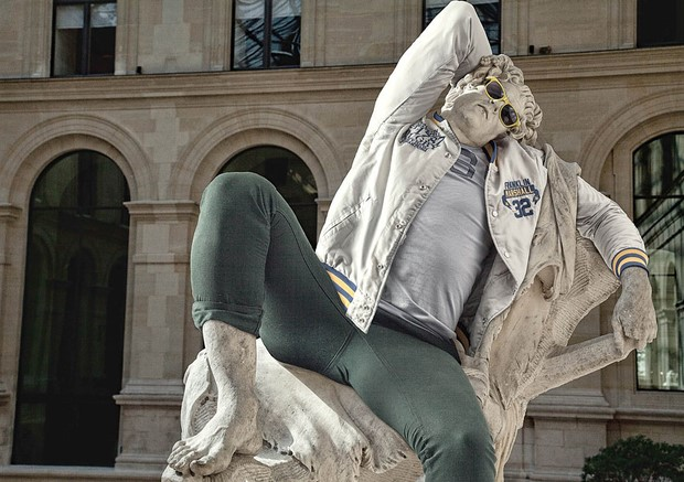 Classical Sculptures Dressed Leo Caillard 4 Classical Sculptures Dressed Leo Caillard