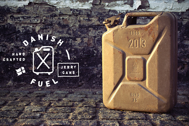 Fuel 5 Upcycled Jerry Can Gear