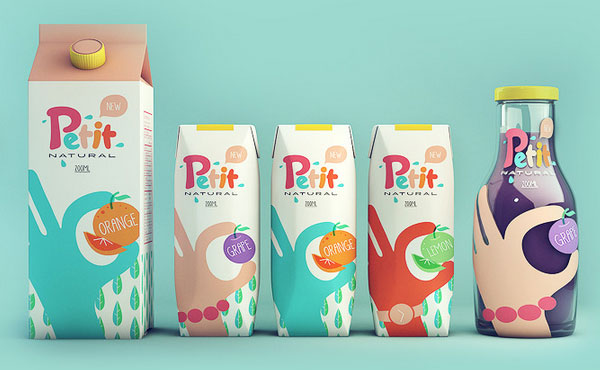 Grape juice packaging design 2 Fruit Juice Packaging Designs for Inspiraton