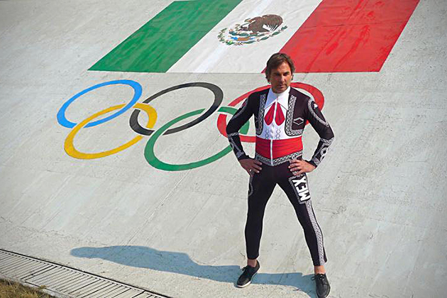 Suit 2 Mexican Mariachi Ski Suit for Winter Olympics
