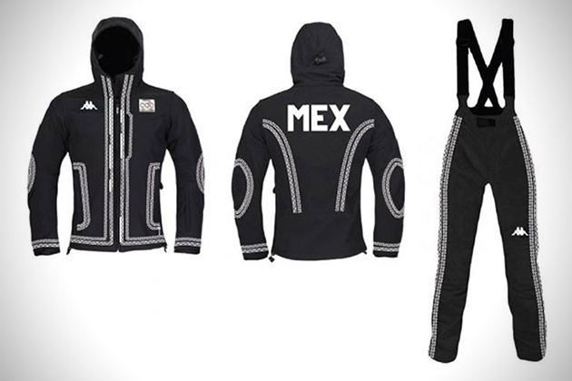 Suit 4 Mexican Mariachi Ski Suit for Winter Olympics