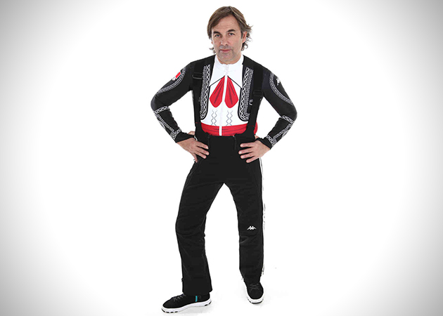 Suit 5 Mexican Mariachi Ski Suit for Winter Olympics
