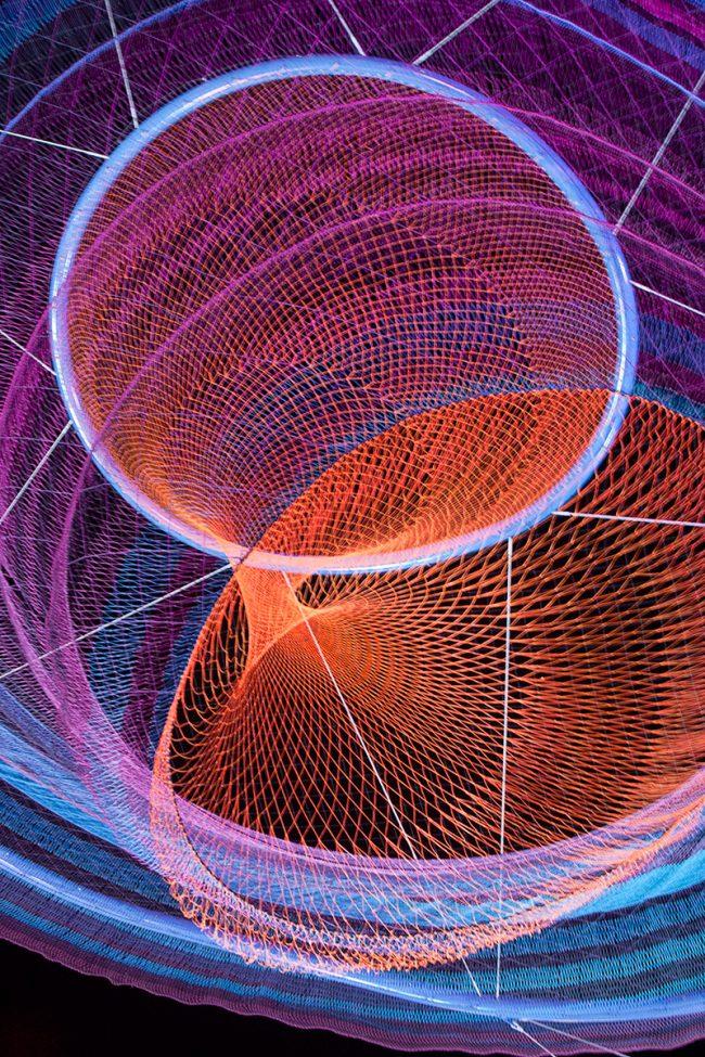 Trippy Nets by Janet Echelman 3 650x975 Trippy Nets by Janet Echelman
