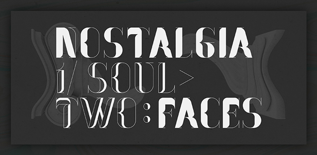 banner01 1 copy Nostalgia Font designed by Pablo Abad