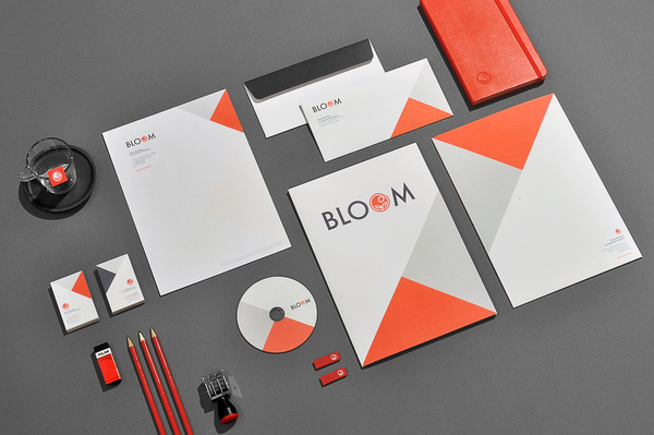 bloom3 Bloom Brand Identity on Branding Journal