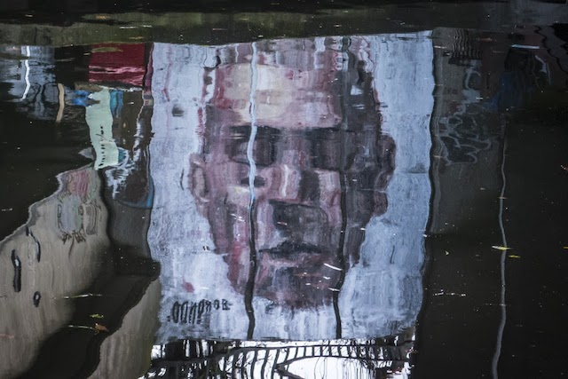 borondo narciso 01 Narcissus   New Mural by Borondo in East London // UK