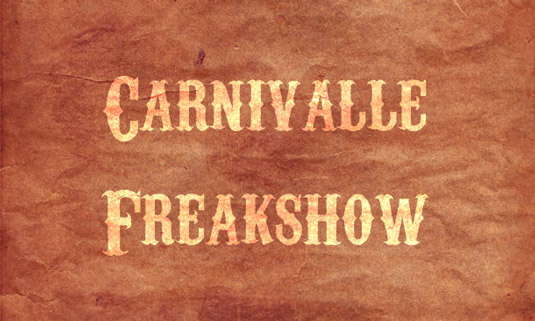 carnivalle11 75 Free Retro Fonts