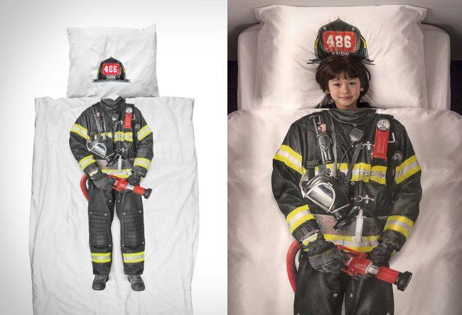 firefighter duvet cover large 650x444 Firefighter Duvet Cover