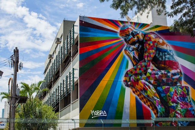 kobra thinker sao paulo 01 The Thinker   New Mural by Eduardo Kobra in Sao Paulo // Brazil