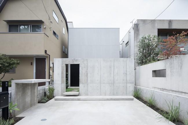 leibal daizawa araki 11 650x433 House in Daizawa by Nobuo Araki