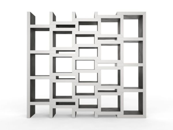 rek bookcase 05a REK: Modular Bookcase Grows With Your Books