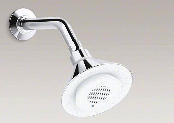 showerhead wireless speaker 01a Showerhead Wireless Speaker