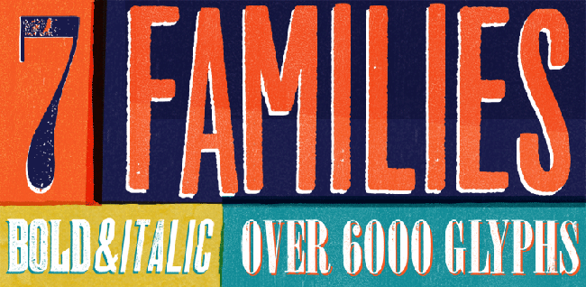 wtc2 Wood Type Font Collection